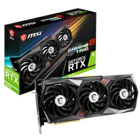 GeForce RTX 3070 GAMING X TRIO MSI PCI Express 4.0 グラフィックスボードMSI GeForce RTX 3070 GAMING X TRIO