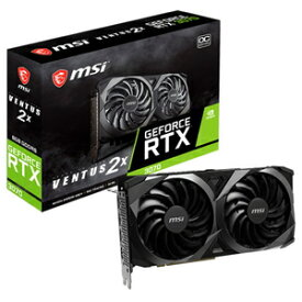 GeForce RTX 3070 VENTUS 2X OC MSI PCI Express 4.0 グラフィックスボードMSI GeForce RTX 3070 VENTUS 2X OC