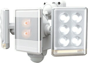 LED-AC2018 ムサシ LEDセンサーライト(9W×2灯) musashi [LEDAC2018]