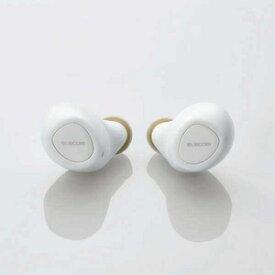 LBT-TWS10WH エレコム 完全ワイヤレス Bluetoothイヤホン(ホワイト) ELECOM