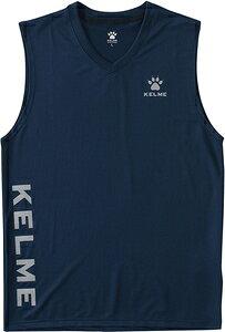 TTS-KC20S126-107-L KELME(ケレメ) サッカー・フットサル用 インナーシャツ タンクトップ(ネイビー・サイズ:L) ユニセックス