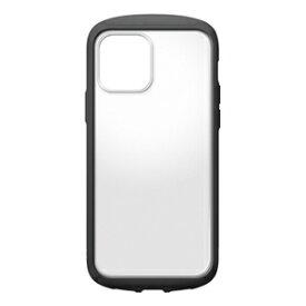 PG-20GGT01BK PGA iPhone 12/12 Pro用 ガラスタフケース ラウンド Premium Style(ブラック)