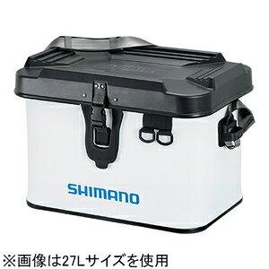 665621 シマノ タックルボートバッグ ハードタイプ 22L(ホワイト) SHIMANO BK-001T バッカン