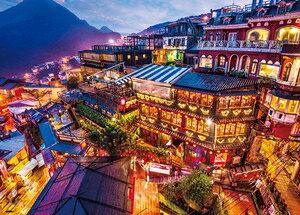 海外風景 灯りともるキュウフン(台湾) 600ピース ジグソーパズル ビバリー