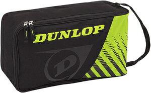 DUN-DTC2038-083 ダンロップ シューズケース(ブラック×イエロー) DUNLOP CLUB LINE