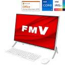 FMVF70E3W 富士通 23.8型デスクトップパソコン FMV ESPRIMO FH70/E3 (Core i7/ 8GB/ 512GB SSD/ DVDドライブ)Micros…