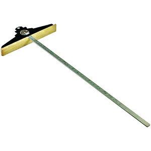15141 鬼六 丸鋸定規 木の羽根450 (350mm)