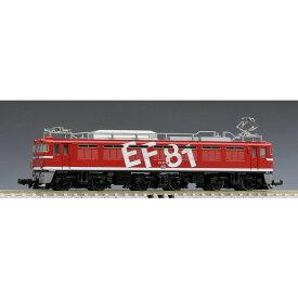 [鉄道模型]トミックス (Nゲージ) 7153 JR EF81形電気機関車(95号機・レインボー塗装・Hゴムグレー)
