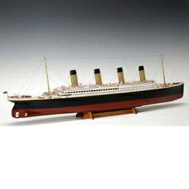 1/350 木製模型 タイタニック 木製組立キット ウッディジョー
