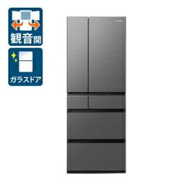 (標準設置料込)冷蔵庫 パナソニック 大型 NR-F607WPX-H パナソニック 600L 6ドア冷蔵庫(ミスティスチールグレー) Panasonic WPXタイプ [NRF607WPXH]