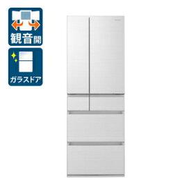 (標準設置料込)冷蔵庫 パナソニック 大型 NR-F507HPX-W パナソニック 500L 6ドア冷蔵庫(アルベロホワイト) Panasonic HPXタイプ [NRF507HPXW]