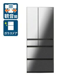 (標準設置料込)冷蔵庫 パナソニック 大型 NR-F657WPX-X パナソニック 650L 6ドア冷蔵庫(オニキスミラー) Panasonic WPXタイプ [NRF657WPXX]