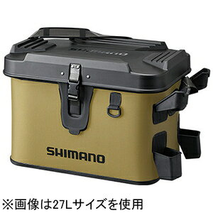 698384 シマノ ロッドレスト ボートバッグ ハードタイプ 32L(カーキ) SHIMANO BK-007T