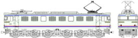 [鉄道模型]トラムウェイ (HO) TW-EF60-F010A 国鉄EF60第2次量産型やすらぎ色