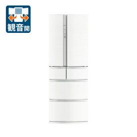 (標準設置料込)MR-R46G-W 三菱 462L 6ドア冷蔵庫(クロスホワイト) MITSUBISHI Rシリーズ [MRR46GW]