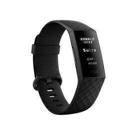 FB417BKBK-JP フィットビット 【Suica対応】ウェアラブル活動量計 (ブラック) L / Sサイズ 【Suica対応】Fitbit Charge4 GPS搭載 BK L/S [FB417BKBKJP]【返品種別A】