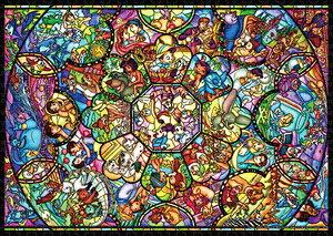 ディズニー オールスター ステンドグラス(31作品)世界最小1000ピース ジグソーパズル テンヨー 【Disneyzone】
