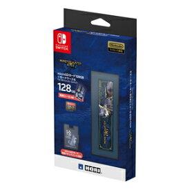 【Switch】モンスターハンターライズ microSDカード128GB + カードケース6 for Nintendo Switch ホリ [AD20-001 マイクロSD128GB NSW]