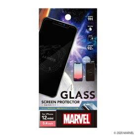 PG-DGL20F03IRM PGA iPhone 12 mini用 液晶保護ガラス(ジャービス) 【MARVELCorner】