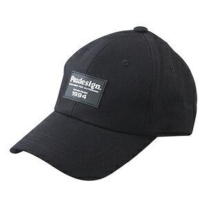 PHC-062(ブラツク) パズデザイン ワッペンキャップ フリーサイズ(ブラック) Pazdesign EMBLEM CAP