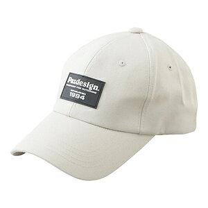 PHC-062(オフホワイト) パズデザイン ワッペンキャップ フリーサイズ(オフホワイト) Pazdesign EMBLEM CAP