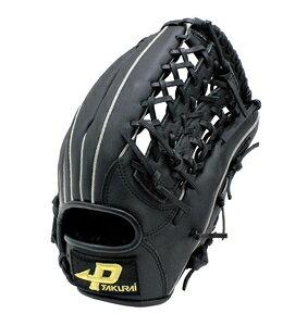 PGS-3151(N21) サクライ貿易 3号用ソフトボールグラブ(ブラック・サイズ:L) PROMARK プロマーク 親指革命 3号球 一般用
