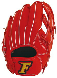 FG-5713 サクライ貿易 軟式野球用グラブ(レッドオレンジ・サイズ:S) FALCON ファルコン 一般用 オールラウンド用