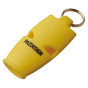 PAC-221 パズデザイン SOL レスキューホイッスル Pazロゴ(イエロー) Pazdesign SOL RESCUE WHISTLE [PAC221]