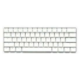 ONE2RGBMINIPWSILVER Ducky(ダッキー) メカニカルキーボード 英語配列 60%バージョン Cherry Speed Silver RGB(Pure White) Ducky One 2 Mini Pure White RGB