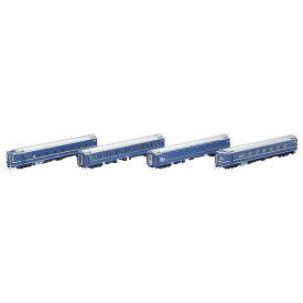 [鉄道模型]トミックス (HO) HO-9072 JR 14系15形特急寝台客車(富士・はやぶさ)セット(4両)