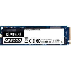 SA2000M8/1000G Kingston Kingston M.2 2280 NVMe PCIe Gen3x4 SSD A2000シリーズ 1.0TB
