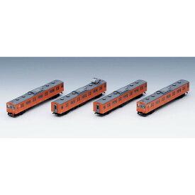 [鉄道模型]トミックス (Nゲージ) 98455 JR 103系通勤電車(JR西日本仕様・黒サッシ・オレンジ)基本セット(4両)
