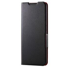 PM-O212PLFUBK エレコム OPPO Reno5 A用 手帳型レザーケース UltraSlim 薄型 磁石付き(ブラック)