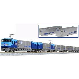 [鉄道模型]カトー (Nゲージ) 10-1721 M250系 スーパーレールカーゴ(U50Aコンテナ積載)基本セット(4両)