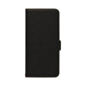 6222RENO5ABO ラスタバナナ OPPO Reno5 A用 薄型手帳ケース サイドマグネット (ブラック×ブラック)