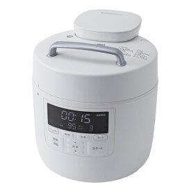 SP-2DM251(W) シロカ 電気圧力鍋 ホワイト siroca おうちシェフPRO Mタイプ [SP2DM251W]