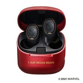 ATH-MVL2-IM オーディオテクニカ 完全ワイヤレス Bluetoothイヤホン【数量限定生産モデル】(MARVEL / IRON MAN) audio-technica MARVEL 【MARVELCorner】
