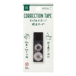 35262006 MIDORI(ミドリ) XS 修正テープ(黒)