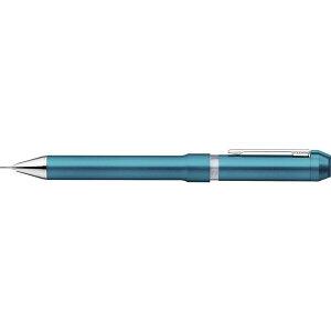 SBS35-CEB ゼブラ 回転式 多機能ペン シャーボNu 2色エマルジョンボールペン0.5mm+シャープ0.5mm セルリアンブルー軸