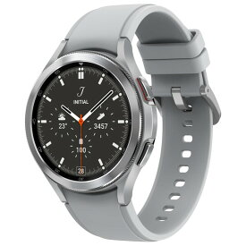 SM-R890NZSAXJP サムスン 【国内正規品】スマートウォッチ(シルバー) SAMSUNG Galaxy Watch4 Classic 46mm/Silver [SMR890NZSAXJP]【返品種別A】