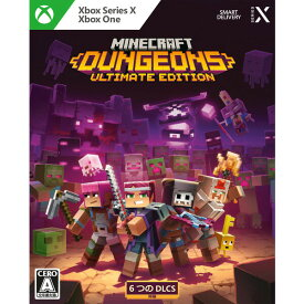 【Xbox Series X】Minecraft Dungeons Ultimate Edition 日本マイクロソフト [KBI-00010 XBOX マインクラフト ダンジョンズ UE]