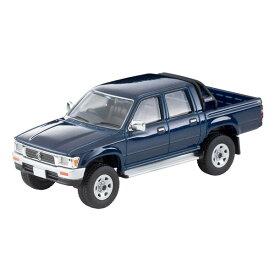 1/64 LV-N255a トヨタ ハイラックス 4WD ピックアップ ダブルキャブSSR(紺)95年式【315421】 ミニカー トミーテック