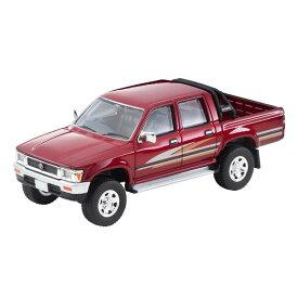 1/64 LV-N256a トヨタ ハイラックス 4WD ピックアップ ダブルキャブSSR(赤)91年式【316893】 ミニカー トミーテック
