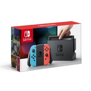 Nintendo Switch 本体【Joy-Con(L) ネオンブルー/(R) ネオンレッド】 任天堂 [HAC-S-KABAA NSWホンタイネオン]【返品種別B】【送料無料】