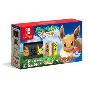 Nintendo Switch ポケットモンスター Let's Go! イーブイセット(モンスターボール Plus付き) 任天堂 [HAC-S-KFAGB NSW ポケモンイーブイセット]【送料無料】