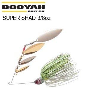 BOOYAH SUPER SHAD スーパーシャッド 3/8oz 【メール便対応】