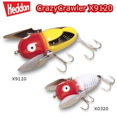 【予約】【取寄せ商品】HEDDON ヘドン Crazy Crawler クレイジークローラー X9120