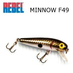 REBELレーベルMinnowミノーF49