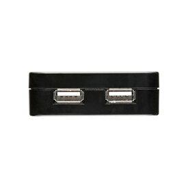 USB充電タップ型ACアダプタ(出力2.1A×2ポート)ブラック サンワサプライ【ACA-IP25BK】[SAN]