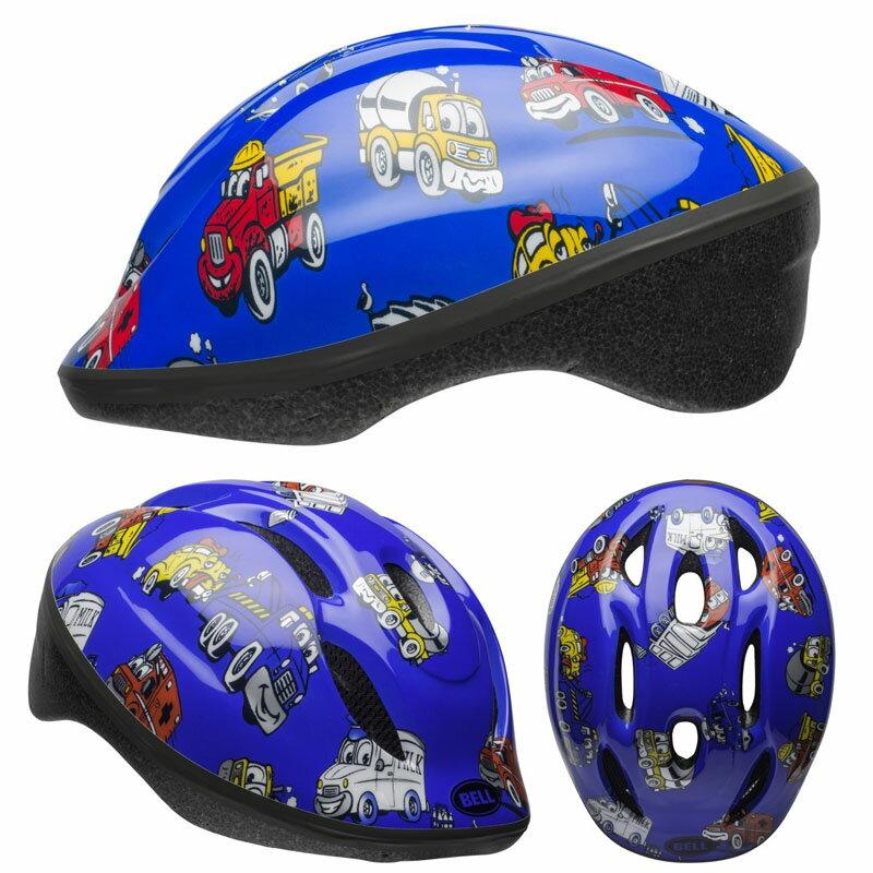 【当店ならエントリーでポイント10倍※14日10時〜】BELL ZOOM2 ズーム2 ブルートラックス ヘルメット/ ベル 自転車 子供用ヘルメット